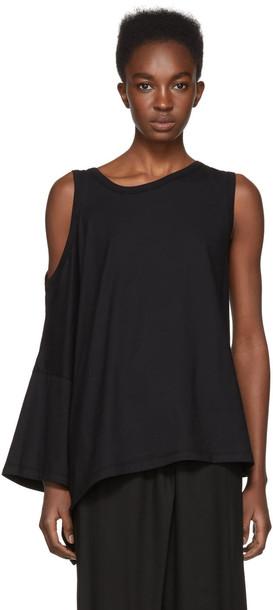 ANN DEMEULEMEESTER t-shirt shirt t-shirt cold black top