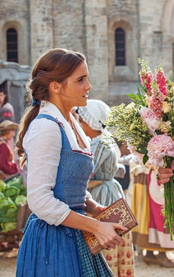 Dress Blouse Emma Watson Beauty And The Beast Blue Costume