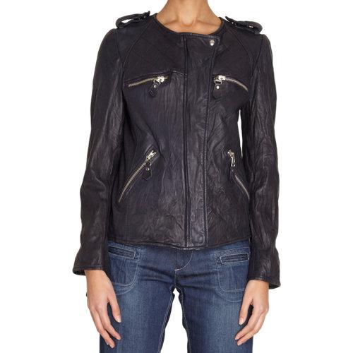 Isabel marant etoile kady leather jacket at barneys.com