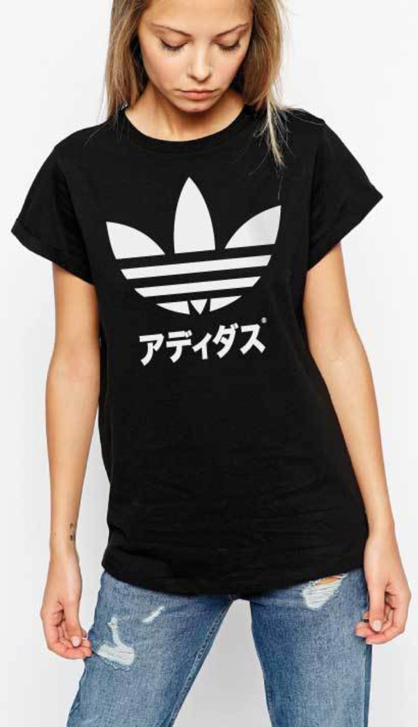 t-shirt t-shirt logo graphic tee t-shirt top top japanese label cool funny funny yung lean style tumblr adidas japan yung lean quote on it quote on it adidas shoes black t-shirt