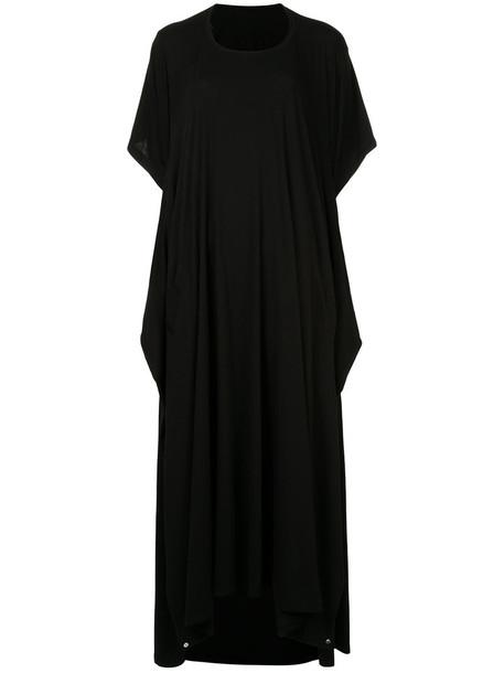 Taylor dress shirt dress t-shirt dress women cotton black
