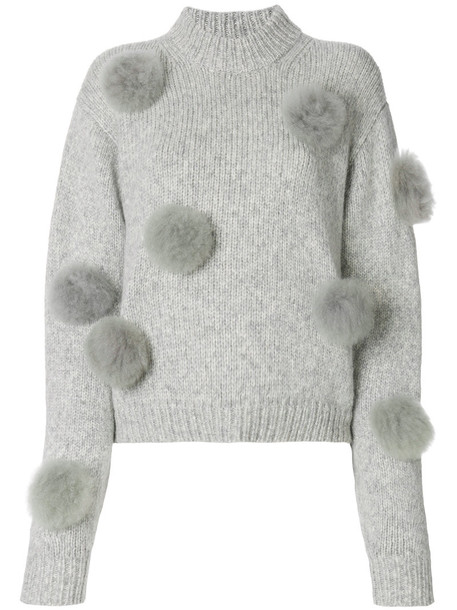 sweater women grey