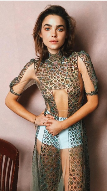 blouse embroidered sheer boho