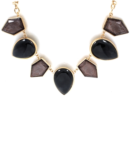 Chia Black Necklace