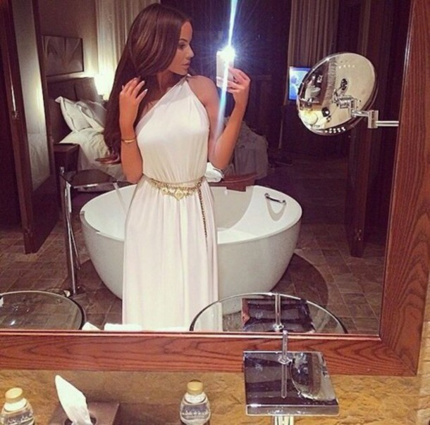 dress white dress long dress white long dress