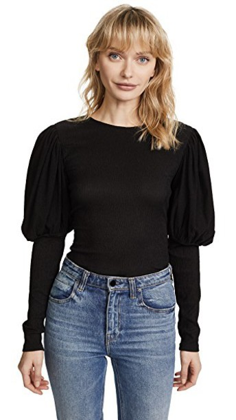 C/MEO COLLECTIVE top long black