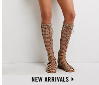 shoes nude knee high gladiator sandals