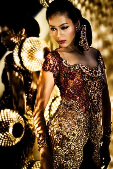 gown indonesian indonesia ball gown traditional indonesian