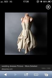 dress,vintage,ruched