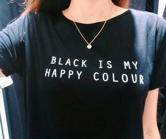 t-shirt spring summer top crop tops black t-shirt black top black crop top quote on it goth pastel goth grunge punk rock alternative dark kawaii tumblr