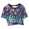 Floralz print crop top | outfit made