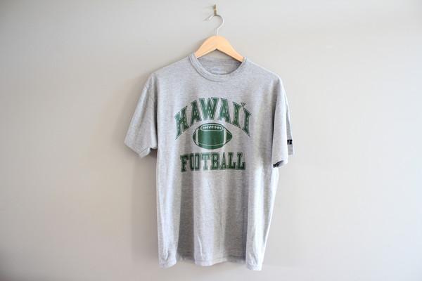 shirt vintage tshirt hawaiian football tee cotton tee distressed tee hawaiian