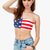 A'GACI American Flag Bandeau - TOPS