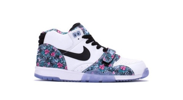 shoes nike running floral