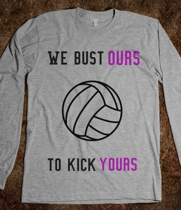shirt volleyball