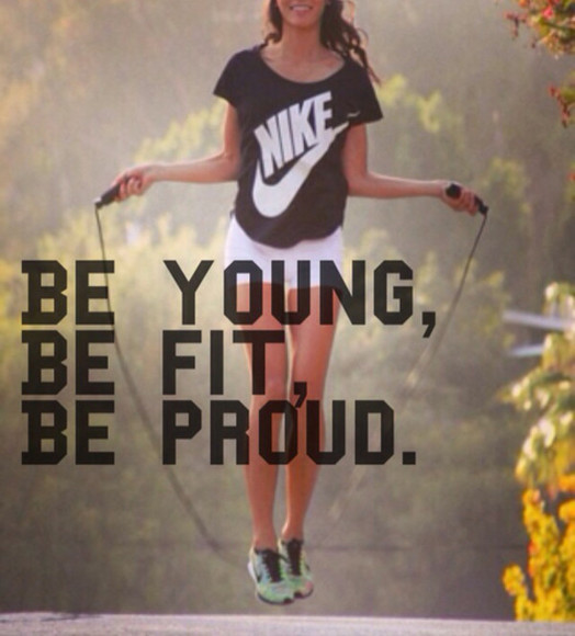 shirt young shorts nike workout fit proud