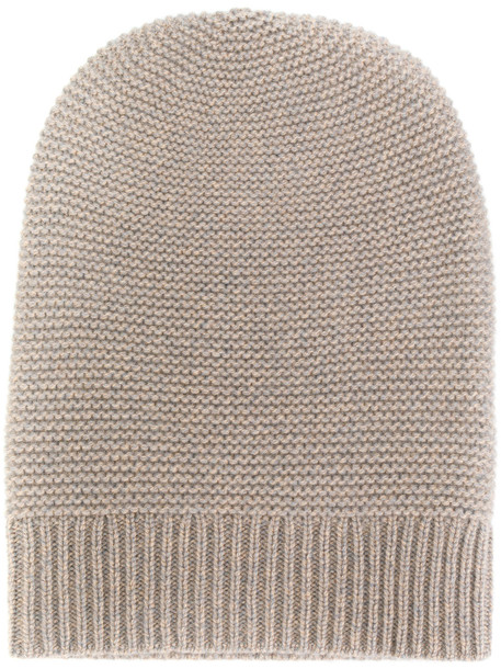 beanie nude knit hat