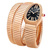 Bvlgari Serpenti Black Opaline Dial 18kt Pink Gold Diamond Ladies Watch SPP35BGDG-2T