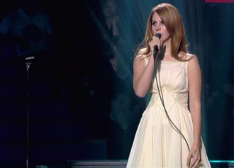 dress cream lana del rey
