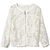 ROMWE | Long Sleeves Lace Coat, The Latest Street Fashion
