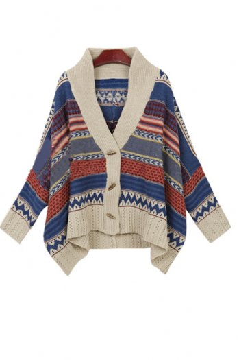 Wing sleeve oversized cardigan [ncsw0010]