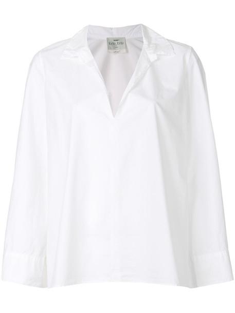 Forte Forte shirt long women white cotton top