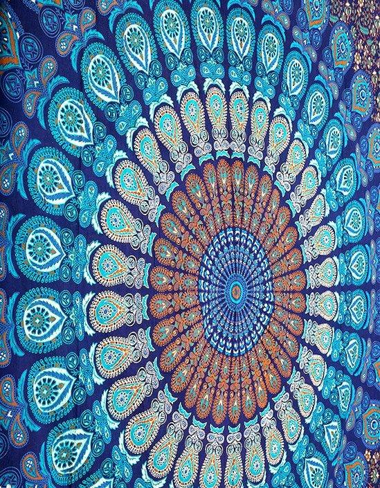 Bohemian Tapestry Wall Hanging dorm mandala tapestries, tapestry wall hanging, hippie tapestries