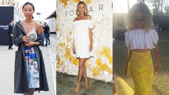 blouse crop tops white ruffle bandeau ruffled top top white top bohemian coachella jeans dress