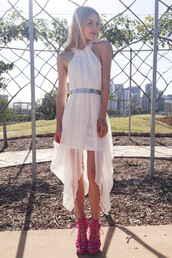 dress,ask grace,bodycon,sheer,shopfashionavenue,princess diaries,white dress