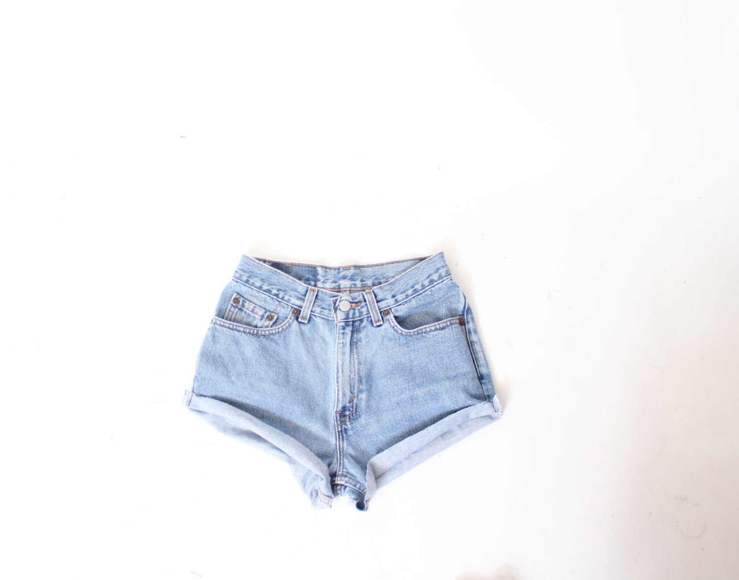 Custom Made Daisy Dukes High Waist Shorts xS S M L