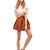 Alice Orange Short skirt - Women's Bottoms Endless Rose - 44217