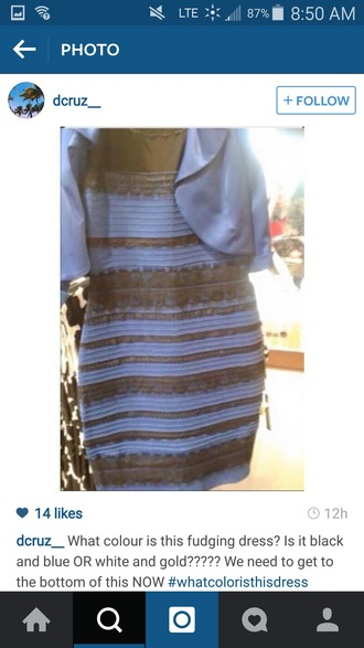 dress blue dress blue and black dress white and gold dress