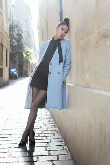 chic muse shoes coat dress