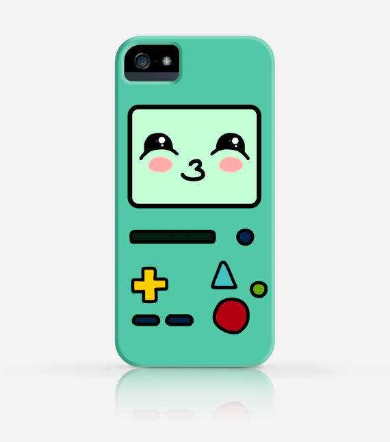 BMO Adventure Time Cute IPhone 4 Case 4s 5 5s