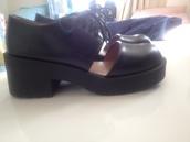 shoes,jeffrey campbell,black,lace-up shoes