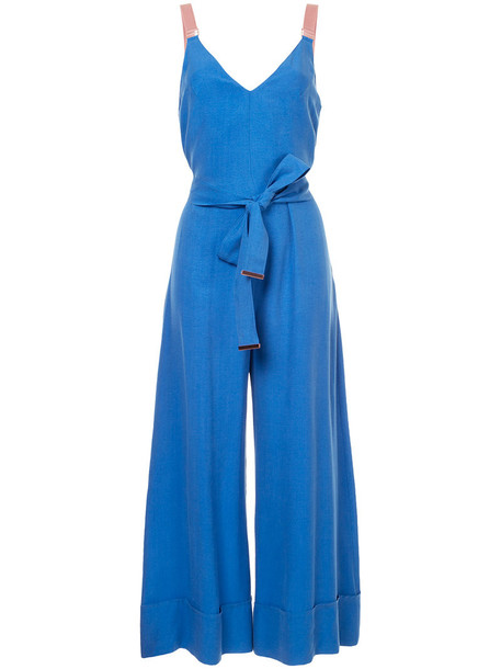 GINGER & SMART jumpsuit women blue