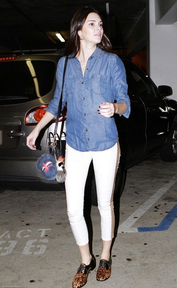 kendall jenner shoes bag pants shirt fall outfits