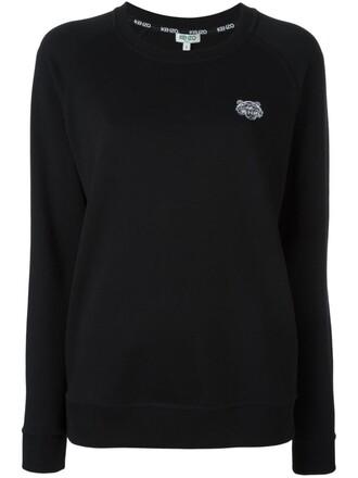 sweatshirt mini tiger black sweater