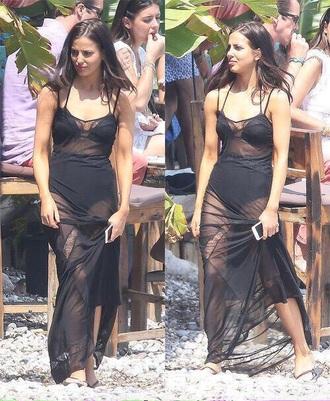 swimwear black swimwear sophia smith dress