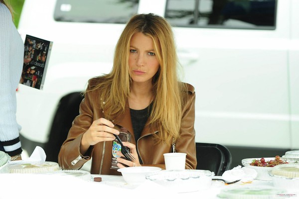 jacket blake lively leather jacket