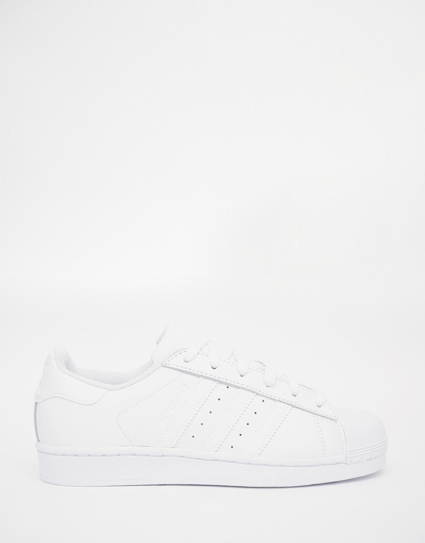 Superstar Foundation Originals At Adidas Trainers White 8Pn0OXwk