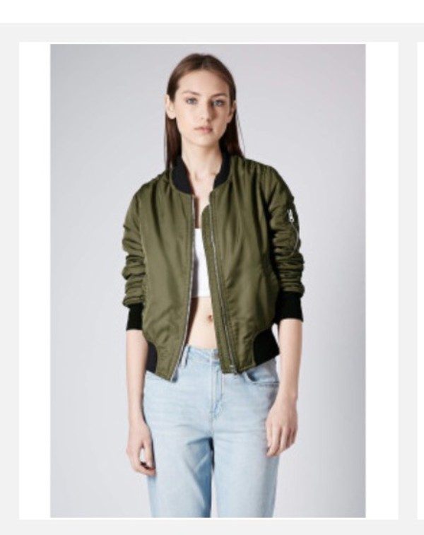If you enjoy the bomber style, but don't want the look of elastic, this is the coat you've been looking for. Instead of elastic at the hemline, cuffs and collar, there is stitched puffy sections that match the look of the rest of the coat.