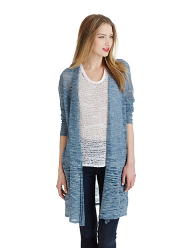 Women's Clothing | Cardigans & Wraps | Linen Open Cardigan | Lord and Taylor