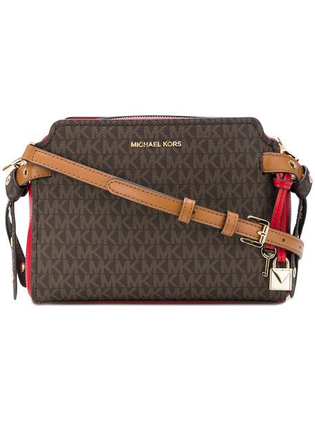 MICHAEL Michael Kors women bag crossbody bag leather brown