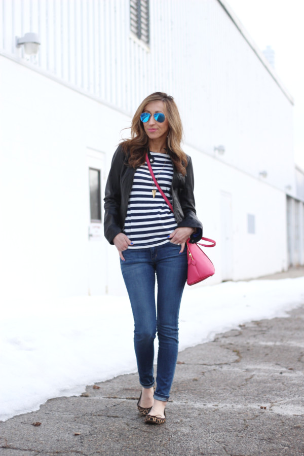 lilly's style jacket shirt jeans bag jewels sunglasses