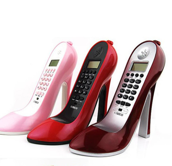 phone cover telephone shoes