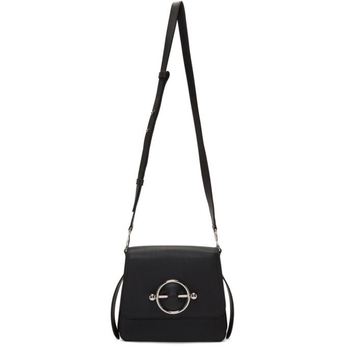 JW Anderson - Black Disc Crossbody Bag