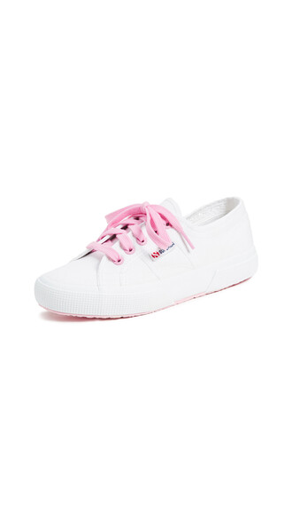 classic sneakers pink shoes