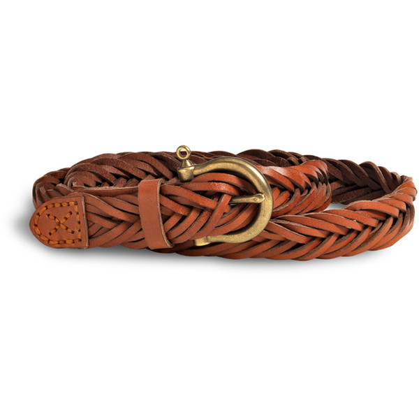 Sperry Top-Sider Twisted Leather Belt - Polyvore