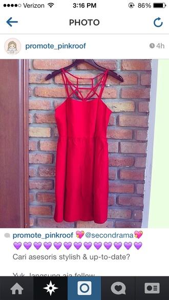 dress red formal mermaid tulle skirt flowers applique v neck straps